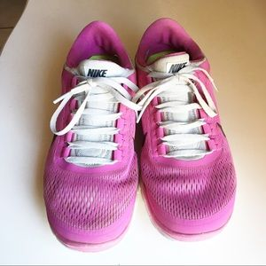 Nike Free Run 3.0 Pink Running Trainers shoes
